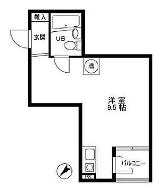 区分マンション-港区赤坂6丁目 間取り