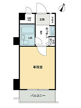 中古マンション-横浜市南区井土ケ谷下町 間取り