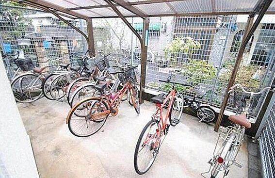 区分マンション-大阪市北区長柄西1丁目 屋根付き駐輪スペース