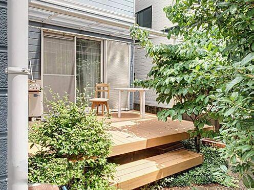 戸建賃貸-刈谷市野田町西田 広々とした庭の確保で日当たり良好!ウッドデッキ付き♪