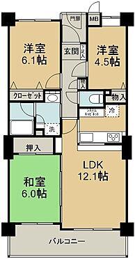 区分マンション-川越市大字安比奈新田 間取り