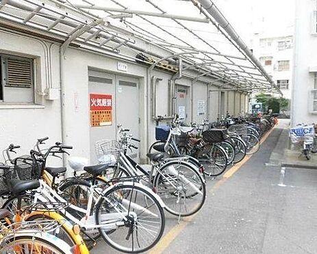 マンション(建物一部)-大阪市都島区友渕町3丁目 広々とした駐輪スペース
