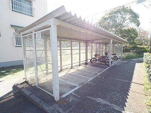 中古マンション-千葉市美浜区幸町2丁目 敷地内には、バイク置場も完備!