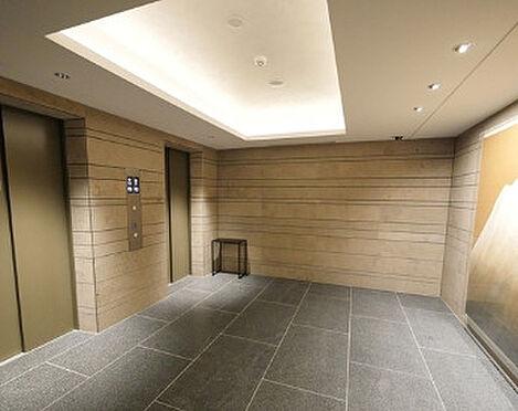 区分マンション-千代田区一番町 Brillia一番町(ブリリア一番町) エレベーターホール