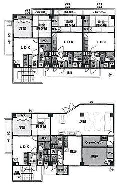 マンション(建物全部)-横須賀市鴨居2丁目 間取り