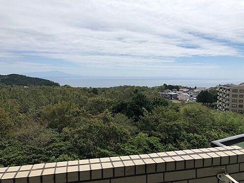 中古マンション-伊東市富戸 伊豆大島・伊豆諸島を一望する景色です。