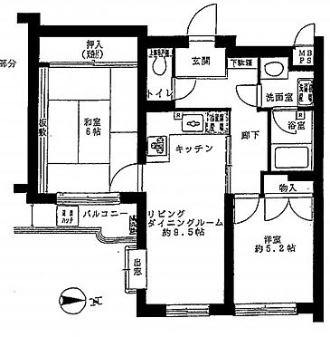 中古マンション-墨田区墨田4丁目 間取り