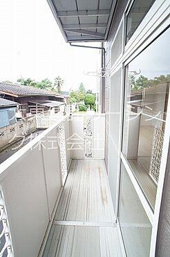 アパート-那珂市菅谷 バルコニー