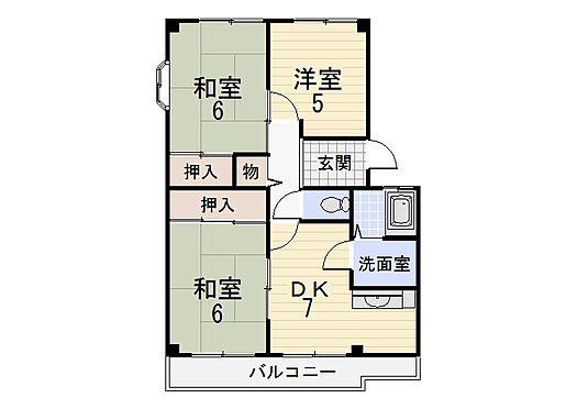 マンション(建物全部)-和歌山市紀三井寺 間取り