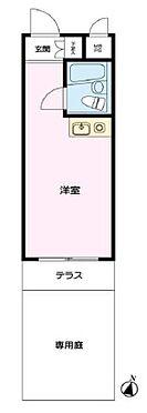マンション(建物一部)-豊島区長崎2丁目 専用庭付きの間取り