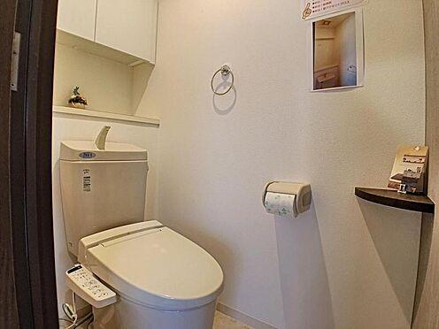 中古マンション-安城市三河安城本町2丁目 シャワーレット交換済み!清潔感あふれるトイレです。