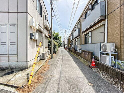 アパート-松戸市松戸新田 東側4m私道。