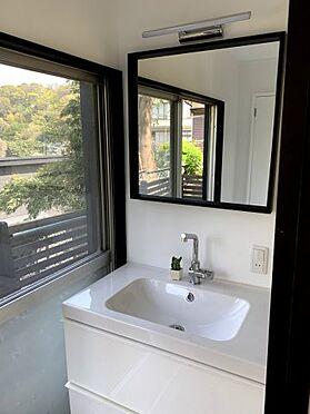 戸建賃貸-横須賀市坂本町2丁目 独立洗面台新規設置 ※リフォーム完了時の画像です