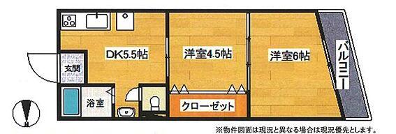 マンション(建物一部)-横浜市鶴見区潮田町4丁目 間取り