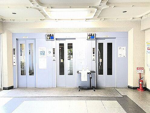 区分マンション-京都市山科区東野門口町 防犯カメラ搭載の複数エレベーター