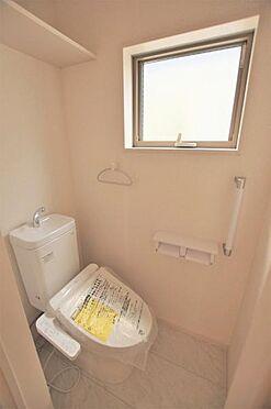 新築一戸建て-仙台市若林区志波町 トイレ