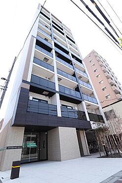 マンション(建物一部)-墨田区東駒形4丁目 2018年3月築、シャープなデザインが印象的な洗練の住まい。