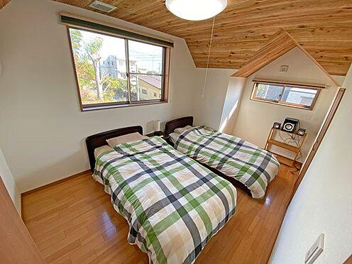 中古一戸建て-伊東市富戸大室高原 2階のセカンドベッドルームです。