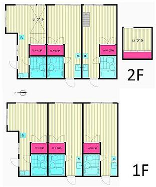 アパート-新宿区高田馬場3丁目 平面図