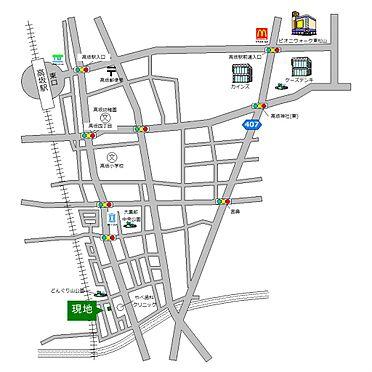 戸建賃貸-東松山市大字毛塚 地図
