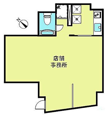 店舗(建物一部)-杉並区和泉1丁目 間取図