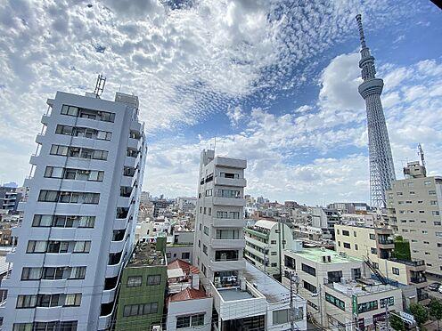 区分マンション-墨田区横川4丁目 バルコニーから東京スカイツリーが望めます(眺望は永続的に保証されるものではございません)