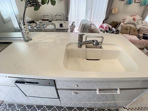中古一戸建て-豊田市浄水町原山 広めの作業スペースで下ごしらえもたっぷりできそう。食洗機付で家事効率もアップ!
