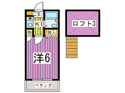アパート-さいたま市桜区田島4丁目 間取り