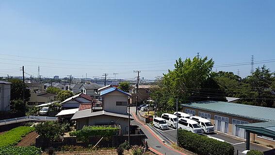 アパート-千葉市中央区生実町 2階室内からの眺望