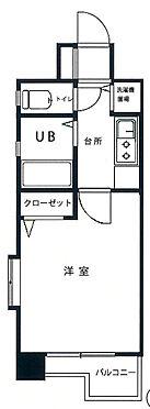 マンション(建物一部)-福岡市博多区比恵町 間取り