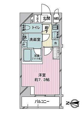 区分マンション-墨田区東駒形4丁目 間取り