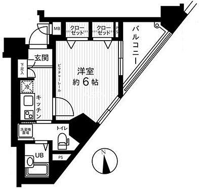 マンション(建物一部)-千代田区内神田2丁目 間取り