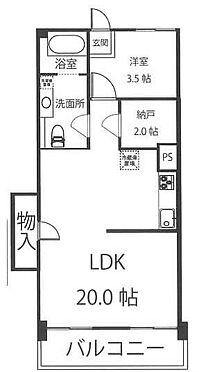 マンション(建物一部)-豊島区南長崎6丁目 間取り
