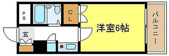 マンション(建物一部)-大阪市平野区長吉出戸8丁目 間取り