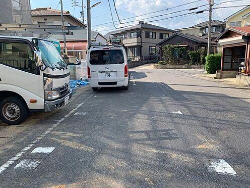 戸建賃貸-豊田市住吉町2丁目 前面道路、幅員約3.0mの道路に約8.0m接道しています!