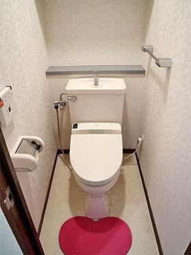 中古マンション-伊東市富戸 ≪トイレ≫ こちらも比較的綺麗な状態。