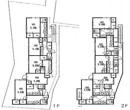 アパート-板橋区成増4丁目 間取り