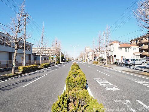 新築一戸建て-千葉市美浜区高洲1丁目 前面道路です!(約22.0m)