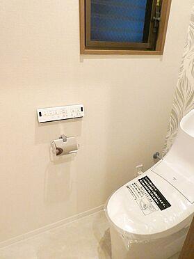 中古一戸建て-中央区佃1丁目 2階トイレ(温水洗浄機能付き)