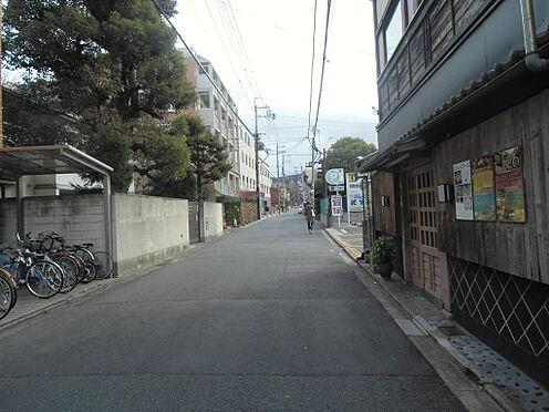 マンション(建物全部)-京都市左京区田中飛鳥井町 前面道路
