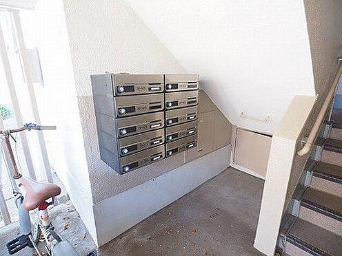 区分マンション-千葉市美浜区稲毛海岸3丁目 大規模修繕で集合ポストも更新されました!