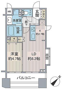 マンション(建物一部)-台東区雷門2丁目 間取り図です。