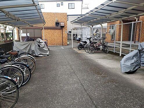 マンション(建物一部)-横浜市神奈川区羽沢町 駐輪しやすい平置きタイプ。