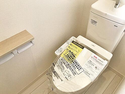 新築一戸建て-豊中市上野西4丁目 トイレ