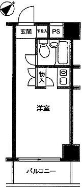 中古マンション-横浜市中区日ノ出町1丁目 間取り