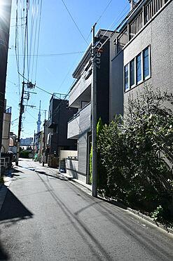 アパート-墨田区八広5丁目 前面道路