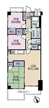 中古マンション-八王子市別所1丁目 3LDK・64.58m2