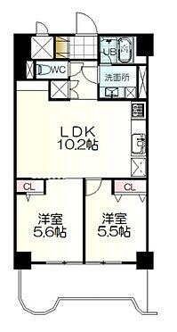区分マンション-仙台市青葉区中央4丁目 間取り