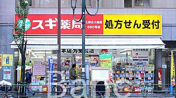 中古マンション-文京区湯島4丁目 スギ薬局上野広小路店 徒歩5分。 390m
