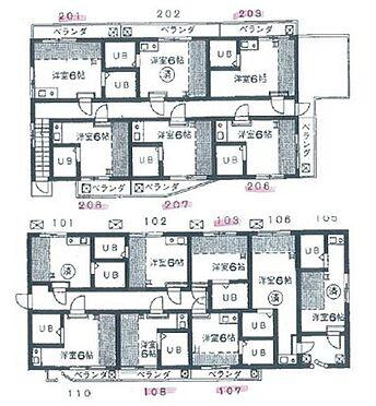アパート-板橋区宮本町 間取り